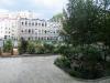 widok na dwa ogródki